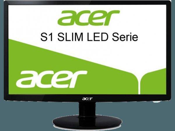 [Mediamarkt Österreich] LED-Monitor 68.6 cm (27 Zoll) Acer S271HLDbid 1920 x 1080 Pixel 16:9 6 ms HDMI, DVI, VGA für 199,90€ inc. Versand nach Deutschland