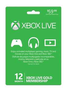 [Gameladen] Xbox Live Gold 12 Monate für 24,50€ (nun 25,64€)