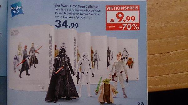 (offline/lokal?) Hasbro Star Wars Saga Collection 4-Figuren Set @ Karstadt, je 9,99€