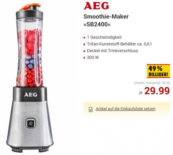 AEG PerfectMix Smoothie-Maker SB2400 - Kaufland