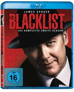 (Media Markt Mainz) The Blacklist - Staffel 2 auf Blu-ray für 26€