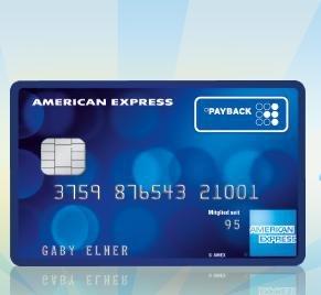payback american express kreditkarte mit extra punkten. Black Bedroom Furniture Sets. Home Design Ideas