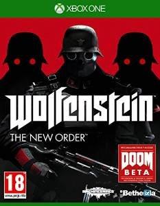 XBOX ONE: Wolfenstein The New Order für 17,84 EUR