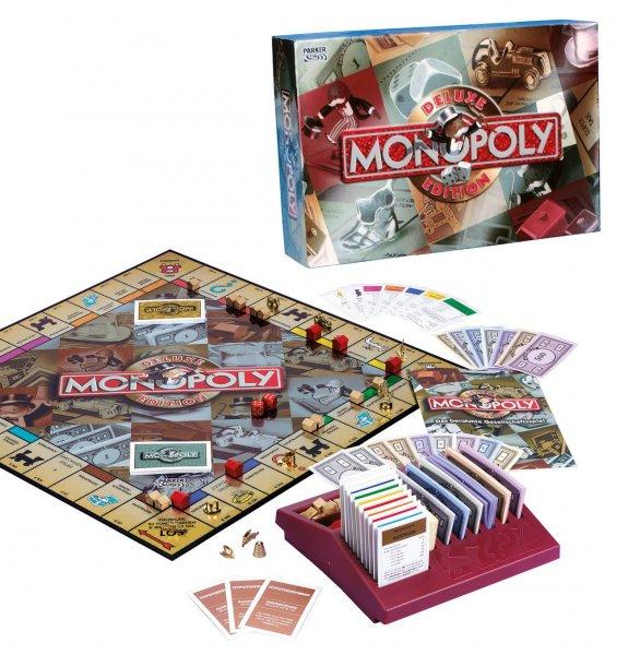 (Brettspiel/Galeria) Hasbro Monopoly Deluxe ab 24,99 €