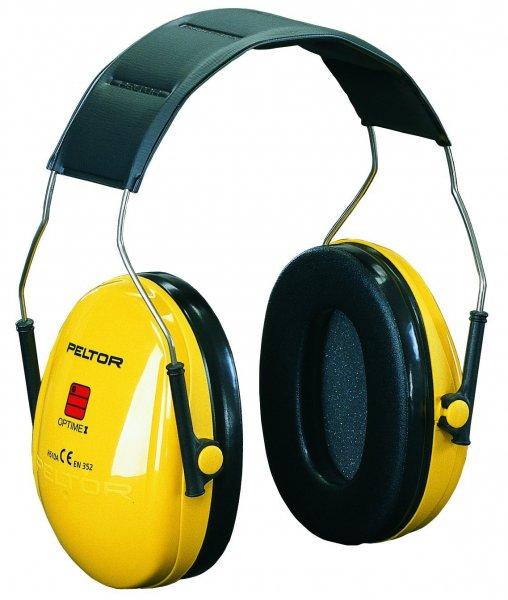 [Amazon-Prime] 3M H510AC Peltor Kapselgehörschützer für Lärmpegel bis 98 dB, sehr leicht, stufenlos verstellbare Kopfbügel, gelb