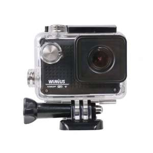 WIMIUS S1 Actionkamera Wifi Sport Action Kamera Actioncam Full HD 1080P 30M Wasserdicht für 69,89 statt 89,89