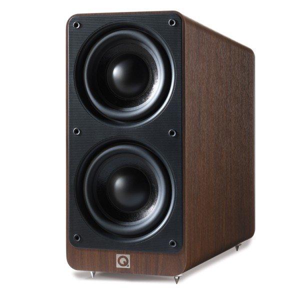 Q Acoustics 2070 Si *Aktiv Subwoofer* [REDCOON] für 239€ inkl. / Farbe: Nussbaum