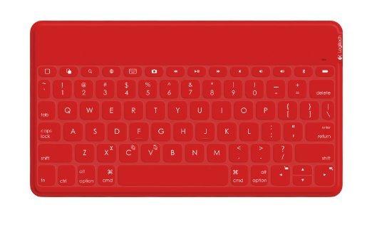 Logitech Keys To Go ios QWERTY Bluetooth Tastatur in Rot oder Teal für EUR 23.92 bei Amazon UK