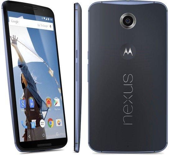 Google Nexus 6 32GB für 350,- €