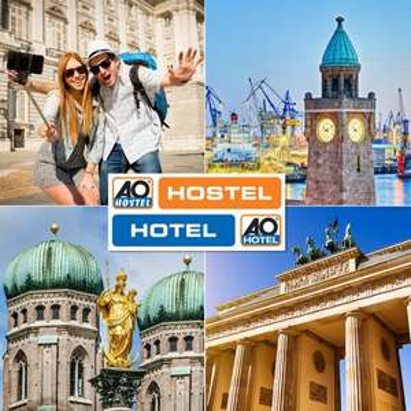 A&O Hostelgutschein 2 Übernachtungen für 2 Personen inkl. Frühstück für 29€