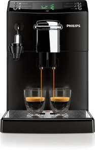 Philips HD8844/01 4000 Serie Kaffeevollautomat, CoffeeSwitch, Cappuccinatore, schwarz