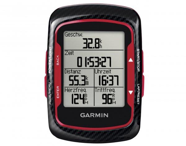 [Rose Bike] Garmin Edge 500 Bundle GPS-Fahrradcomputer mit HR & CAD