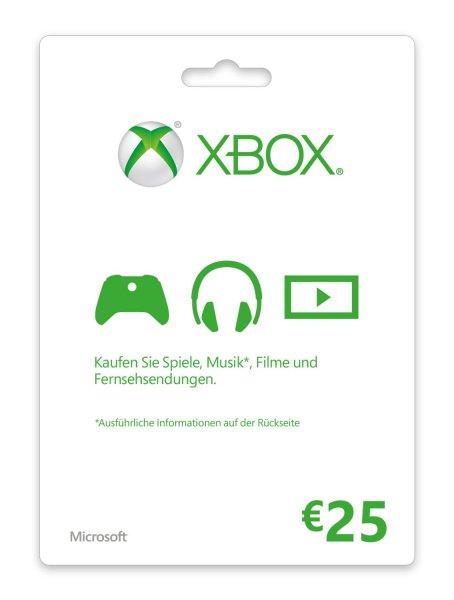 (Xbox/Gameladen) Xbox 25 € Guthaben für 20,89 €