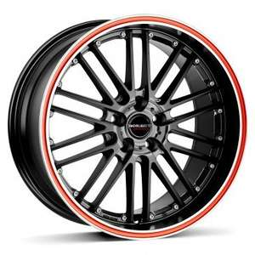 Preisfehler? Alufelgen CW2 black red line 7x17 --> Stückpreis 32€ inkl. Versand