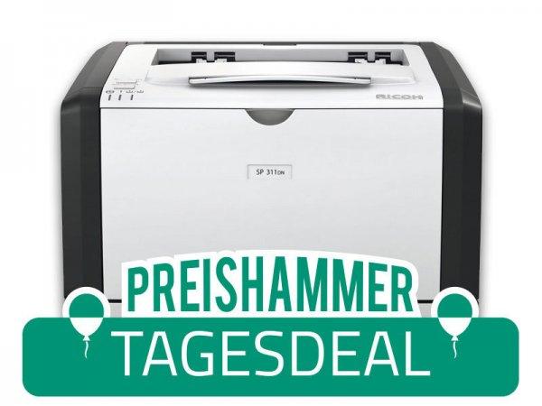 Ricoh SP311DN Duplex S/W-Laserdrucker für 43,12 Euro @Printercare