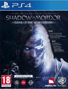 Mittelerde: Mordors Schatten - Game of the Year Edition (PS4),für 32€ statt 42€ @Coolshop