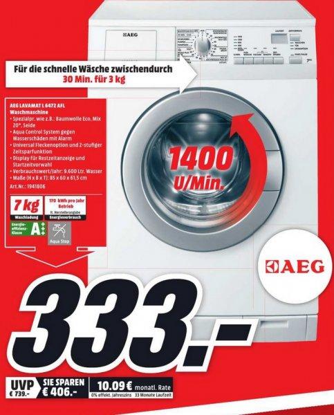 (lokal) AEG Lavamat L6472 AFL für 333€ (Bestpreis!) @ Mediamarkt Dortmund Oespel Indpupark