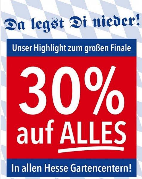 Lokal/NRW/ Garten Center Hesse/ 30% Rabatt auf alles -> Inklusive Weber Grills
