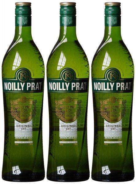 [Amazon.de-Prime] Noilly Prat French Dry Vermouth (3 x 0.75 l)