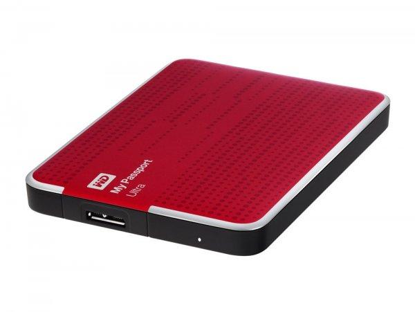 Western Digital My Passport Ultra, 1 TB externe Festplatte, USB 3.0, rot 55,00€