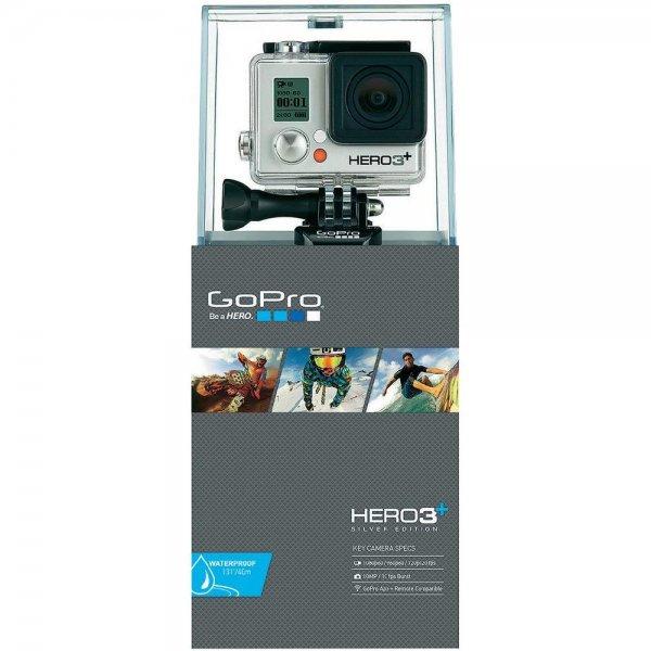 GoPro Hero HD3+ Silver + BacPac Akku 1100 mAh (Conrad)