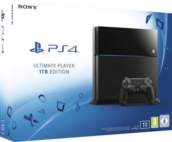 Sony PlayStation 4 (PS4) Ultimate Player 1TB Edition für 339€ @Rakuten + 50,85€ in Superpunkten