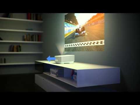 {brands4friends} Tagesdeal mit Kurzdistanzbeamer inkl. DVB-T Philips Screeneo HDP1550TV für 699€ anstatt 885€