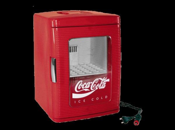 [Saturn] IPV 526430 Coca Cola 25, Kühlschrank, A+, 99 kWh/Jahr, 475 mm hoch, Rot