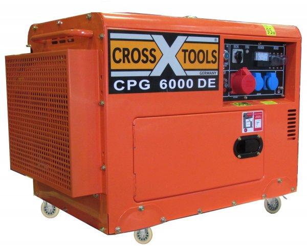 [ Globus-Baumarkt] Cross Tools Dieselgenerator mit Elektrostarter für 799 Euro.