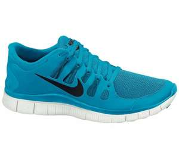Nike - Free 5.0 Herren Laufschuh (blau/grau) Größe 45