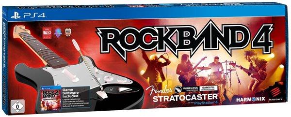 (Amazon.FR) Rock Band 4: Gitarren Controller Bundle (PS4) für 117,35€ inkl. Versand