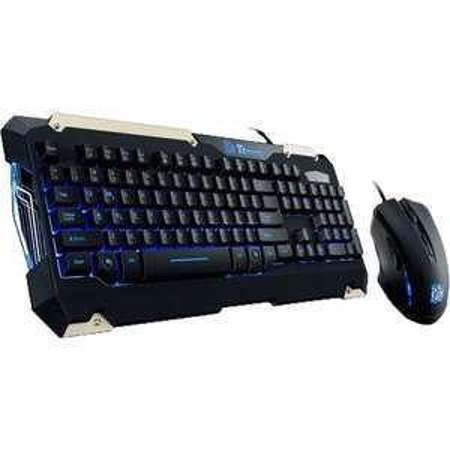 "[ZackZack] Tt eSPORTS Tastatur + Maus-Bundle ""Commander Gaming Gear Combo"""