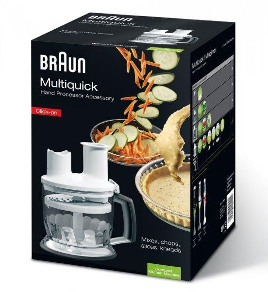 [ebay] Braun Multiquick 5/7/9 Küchenmaschinen-Aufsatz MQ 70, 1,5 Liter, weiss