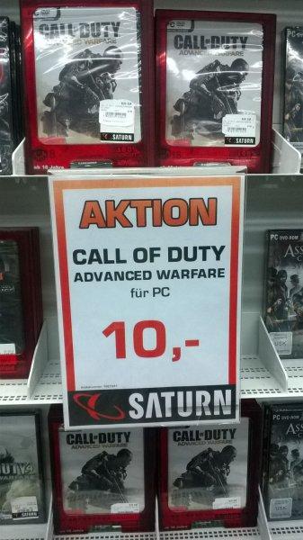 Saturn München: Call of Duty - Advanced Warfare für PC für 10 €