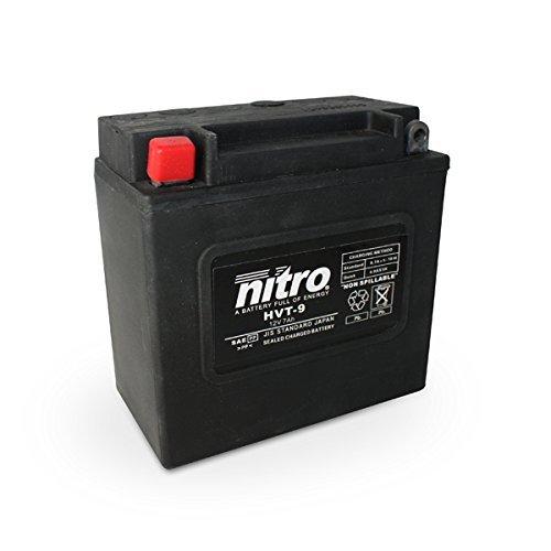 [Amazon.de-Prime] NITRO HVT 09 -N- Batteries, Schwarz (Preis inkl. EUR 7,50 Pfand)
