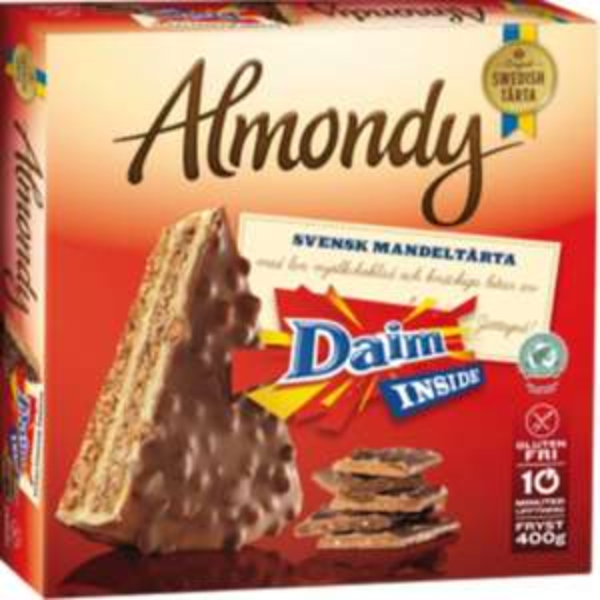 [Lidl] Almondy Torte (Daim, Toblerone, Milka)