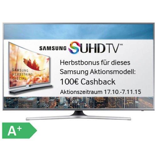 Samsung UE55JU6850 SUHD TV bei Euronics 869 Euro bei Abholung sonst 899 Euro