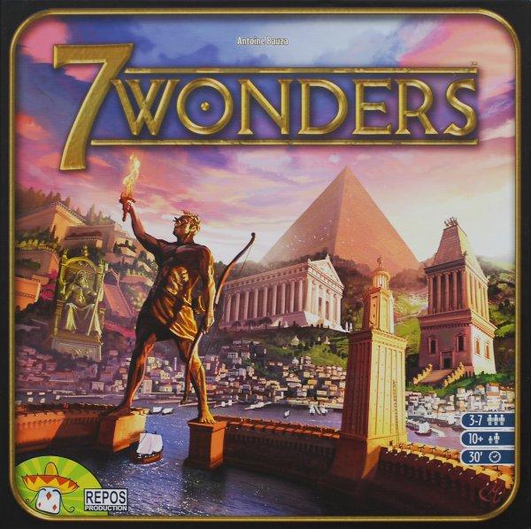 7 Wonders Kennerspiel d. Jahres 2011 @Amazon für 24,97 €