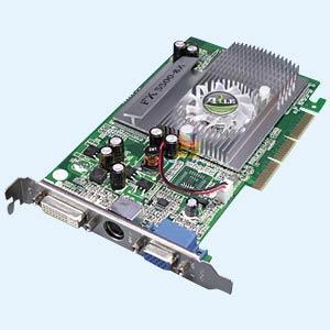 256MB AGP-Grafikkarte GeForce FX5500 von Point Of View