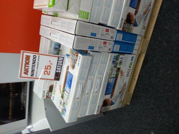 [Saturn lokal Ausgburg CG] Wii U Fit inkl. Fit Meter und Balance Board
