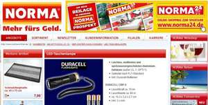 [Norma] (offline) LED-Taschenlampen Duracell (CMP-9, CMP-5, CL-1, OPTI-1,...) ab 21.10.2015