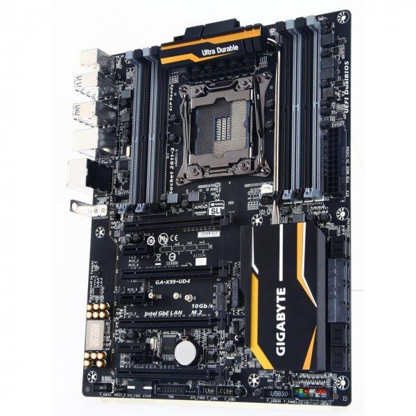 Gigabyte GA-X99-UD4 Intel X99 So.2011-3 Quad Channel DDR4 ATX RETAIL für 156,99 @ MF