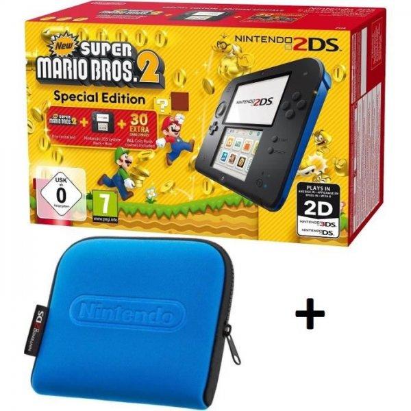 Nintendo 2ds New super Mario + Tasche