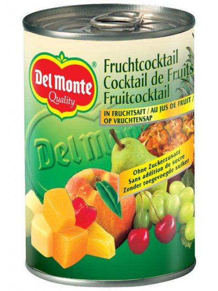 [Amazon.de-Marktplatz] Del Monte Frucht- Cocktail in Saft , 12er Pack (12 x 250 g)