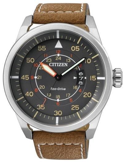 [timeshop24.de + amazon.de] Citizen Eco-Drive Sport AW1360-12H Herren Edelstahluhr mit Lederarmband ab 88,33€ incl.Versand!