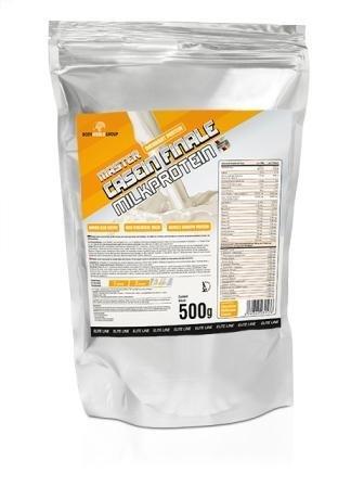 [Amazon.de-Prime-Sparabo] BodyWorldGroup Master Casein Finale Milkprotein, Elite Line, Vanille-Delicious-Cream, 500 g, 1er Pack (1 x 500 g) ab 7,42€