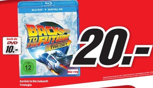 [Lokal Mediamarkt Alzey]Nur heue 18.10 gültig...Zurück in die Zukunft - Trilogie (4 Discs, 30th Anniversary Edition) für 20,-€