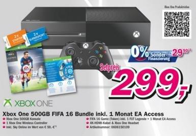 [Lokal Telepoint Oldenburg/Wildeshausen] XBox One + Fifa 16 Download + Sky Online + 1 Monat EA Access für 299€