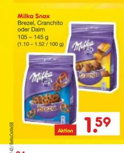 [Netto Marken-Discount] 22.10-24.10 Milka Snax -Angebot+Coupon/Scondoo-
