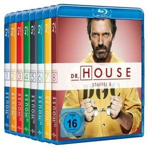 Dr. House 1-8 Collection - die komplette Serie auf Blu-ray @ Media-Dealer